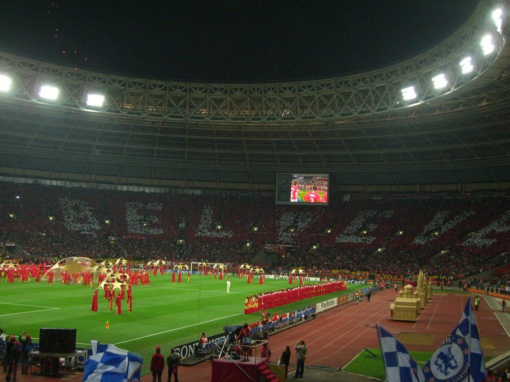 Лужники - финал Лиги Чемпионов 2007/08