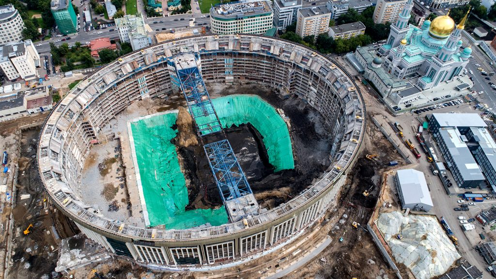 СК Олимпийски реконструкция